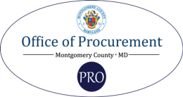 Office of Procurement, Montgomery County MD